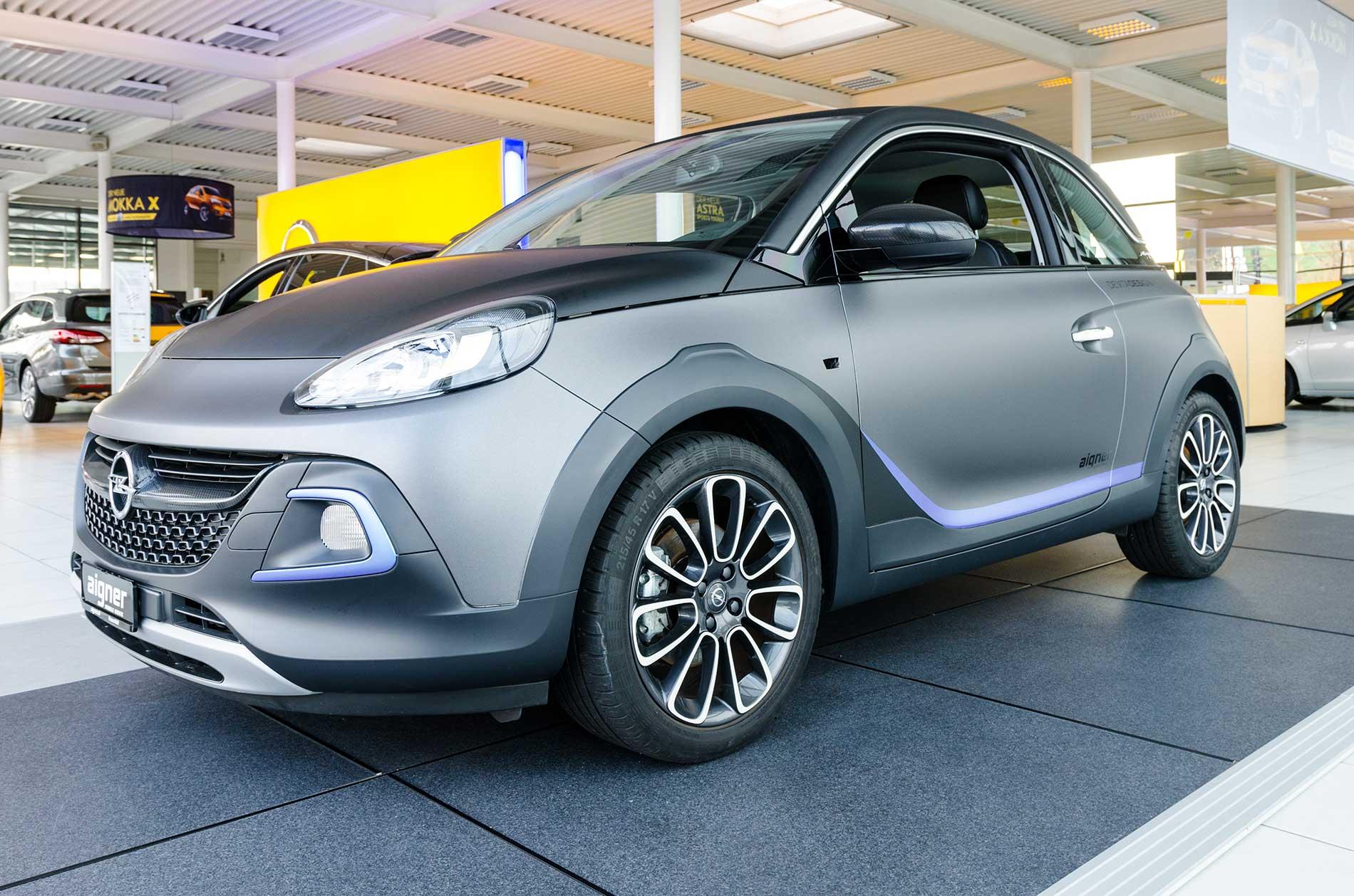 Opel Adam Vollfolierung