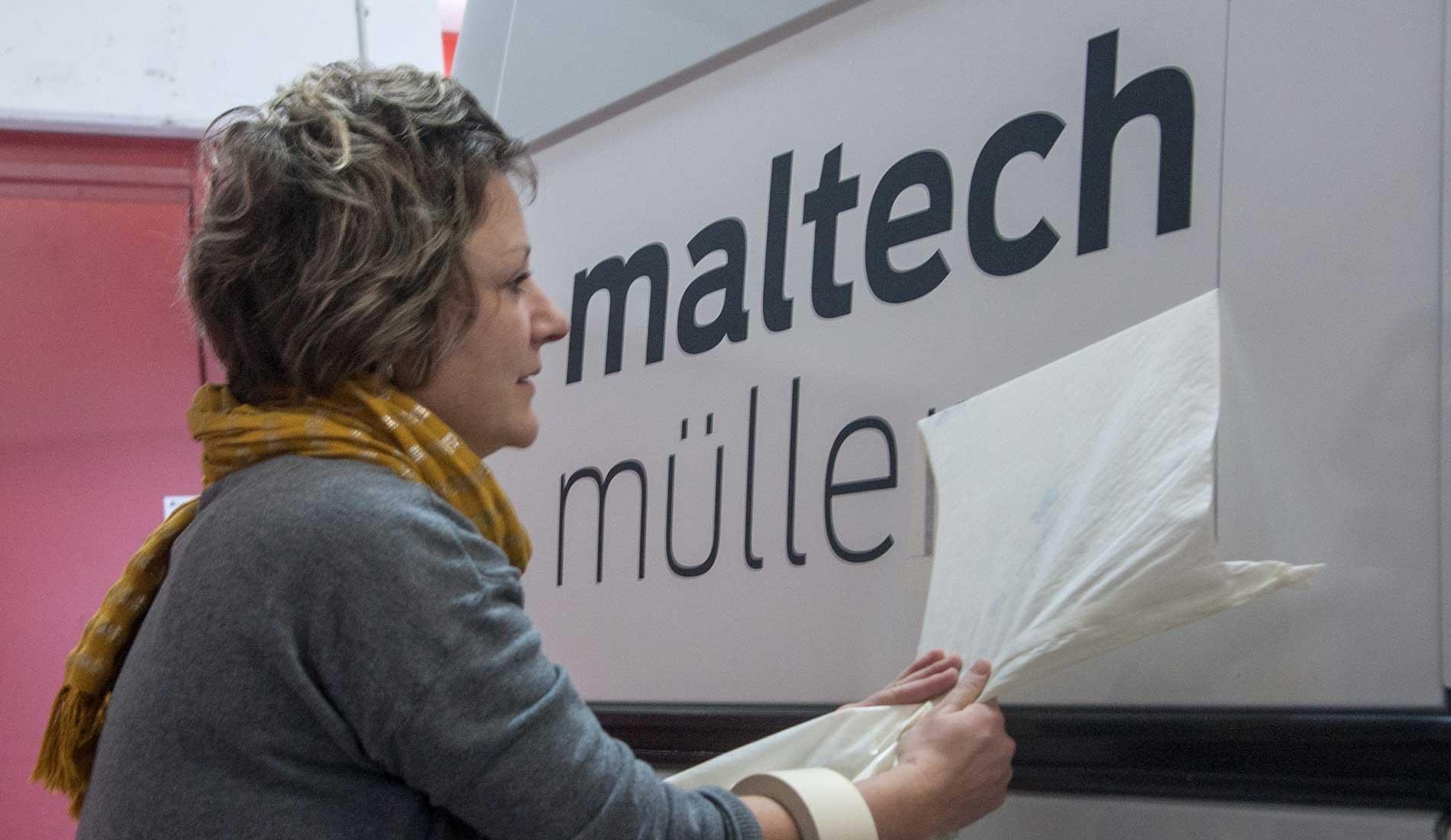 Flottenbeschriftung Maltech Müller AG