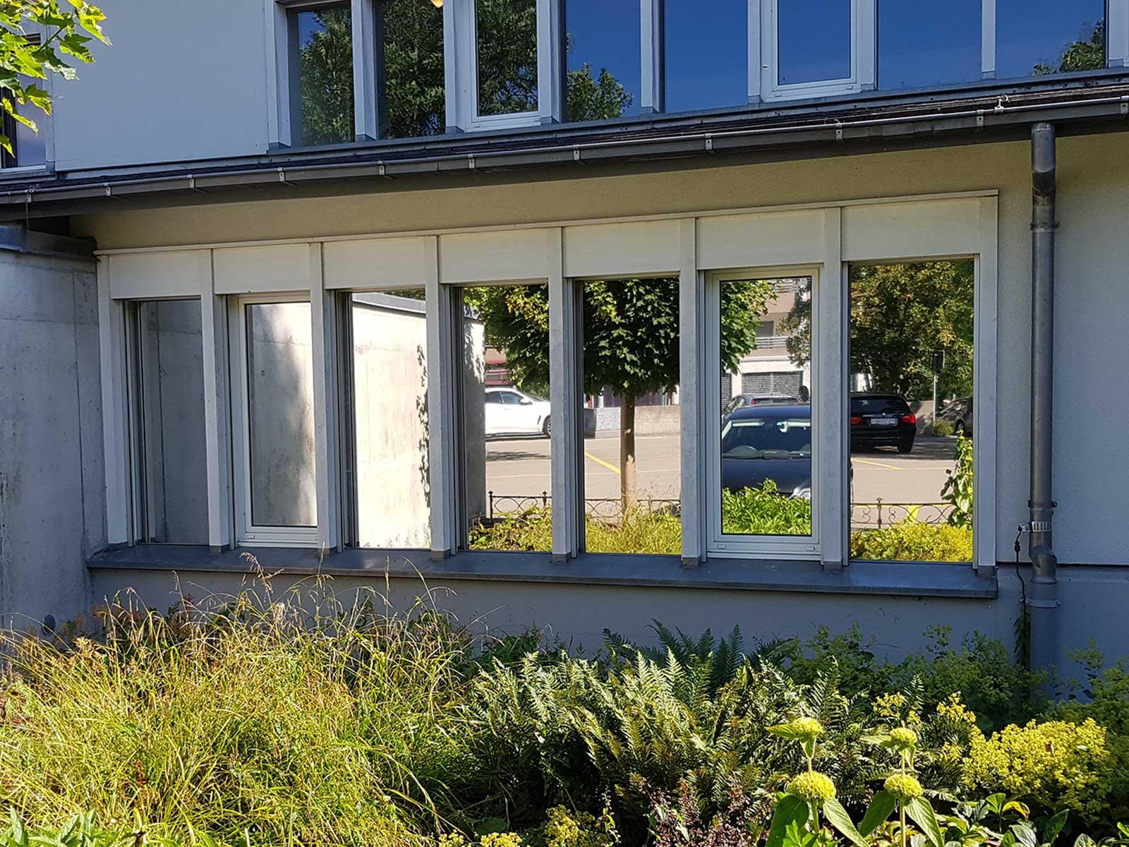 Sichtschutz verspiegelt Model AG