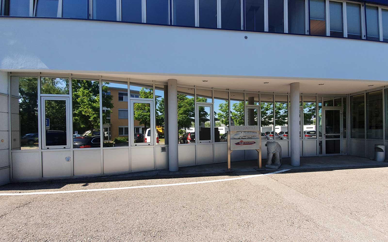 Sonnenschutz verspiegelt Frauenfeld